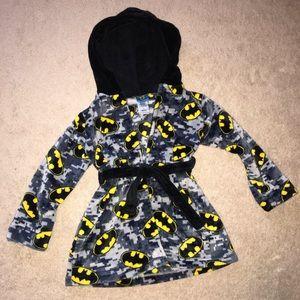 Boys Batman soft bathrobe